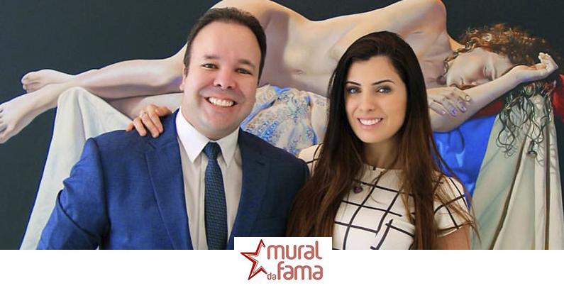 Dr.Cláudio Lemos e a Atriz Juliana Kelling