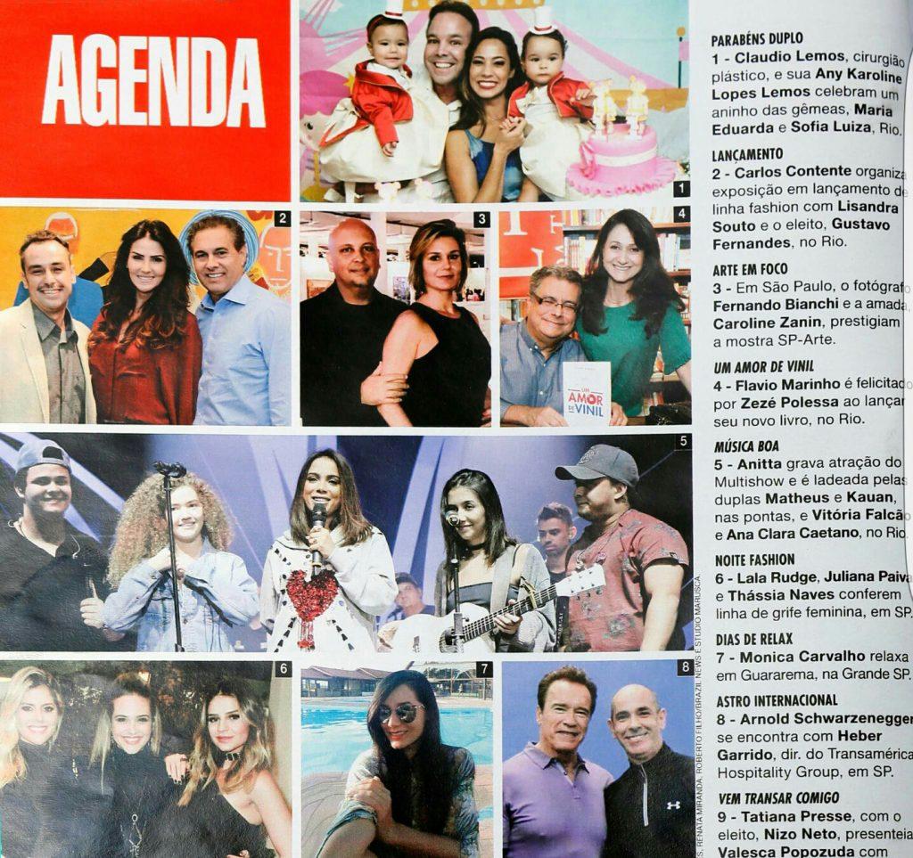 DR. Claudio Lemos Revista Caras Edição 1226