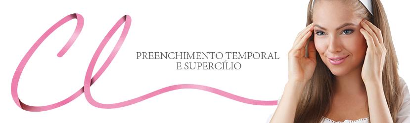 Preenchimento de Têmporas e Supercílios
