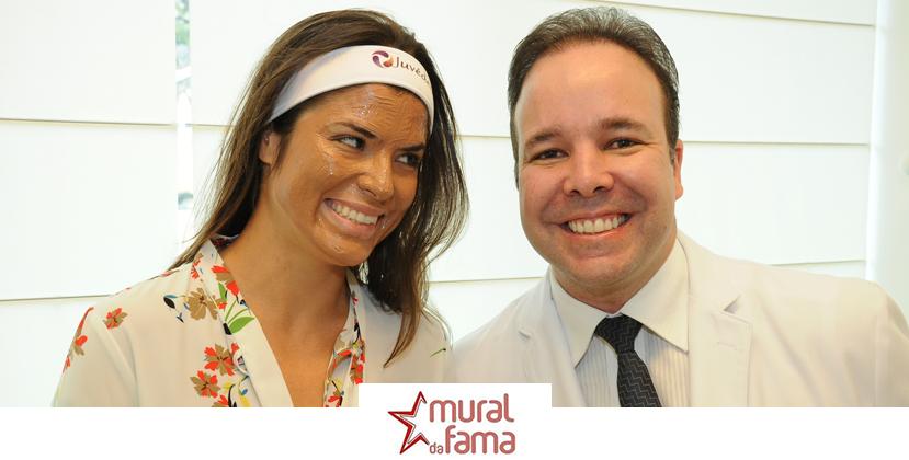 Paula Jubé de 'O Rico e Lázaro', Passa Tarde de Beleza no Rio de Janeiro