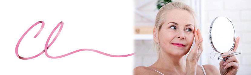 Imagem de um Paciente com Necessidade de Blefaroplastia