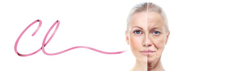Ilustração da Alteração da Anatomia com o Envelhecimento